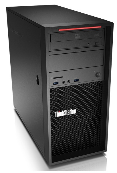 Lenovo ThinkStation P320 TWR Intel Xeon Processor E3-1245 v5 (8M Cache 3.50 GHz) 8GB Non-ECC DDR4 (1 x 8GB) 1TB 7200 RPM Intel Integrated Graphics DVDRW Win 10 Pro 64 DG Win 7 Pro 64 3 Year On Site