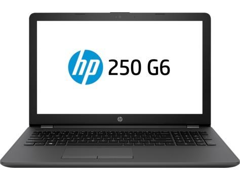 HP 250 G6 Intel Core i3-5005U 4GB DDR3 1600 1 DIMM 1TB 5400rpm DVD+/-RW - Fixed NO 56K Modem Intel 3168 AC 1x1 BLUETOOTH 15.6 HD LCD Mobile Intel Graphics Media Accelerator Windows 10 Pro 64 3~3~3 - SEA