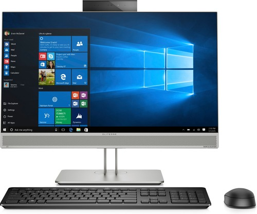 HP EliteOne 800 G5 AIO FHD 23.8 FHD NON TOUCH i5-9500 8GB 1TB HDD Win 10 PRO 64bit (No downgrade to Win 7 supported) Intel Unite DVD-WR 3yw Wireless Slim kbd & mouse No mouse HAS Stand Speakers Intel 9560 AC 2x2 BT 5 WW 2MP Camera 3.3.3