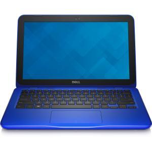 Inspiron 11 3162 BLUE: Intel(R)Celeron(R) Processor N3060 (2M Cache up to 2.48 GHz 11.6-inch HD (1366 x 768) Anti-Glare LED-Backlit Display 2GB Single Channel DDR3L 1600MHz (2GBx1) 500GB HD Intel(R) HD Graphics No Optical drive 802.11ac + Bluetooth 4.0 Dual Band 2.4&5 GHz 1x1 Windows 10 Home Single Language (64bit) 1Yr Collect & Return Warranty