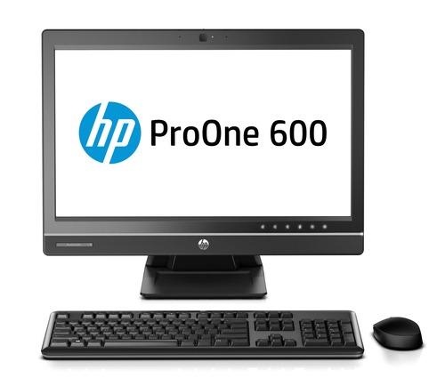 HP ProOne 600 G1 AiO Intel Core i5-4590S 3.0 GHz 4GB DDR3-1600 SODIMM (1x4GB) 500GB HDD 7200 SATA 21.5 FHD NON TOUCH WLED Webcam Slim SuperMulti ODD Windows 8 Pro 64 downgraded to Windows 7 Pro 64 3.3.3